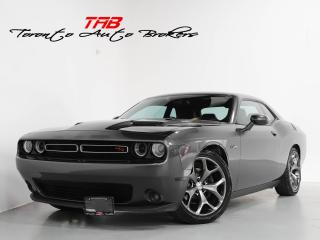 Used 2015 Dodge Challenger R/T PLUS I 6 SPEED I NAVI I CLEAN CARFAX for sale in Vaughan, ON