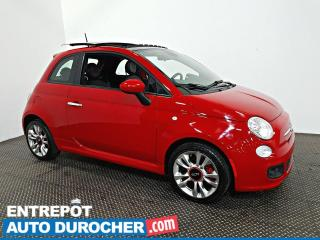 Used 2015 Fiat 500 Sport TOIT OUVRANT - Automatique - A/C - Cuir for sale in Laval, QC