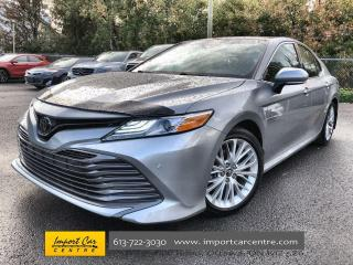 Used 2018 Toyota Camry XLE LEATHER  ROOF  BLIS  ADAPTIVE CRUISE  HTD SEAT for sale in Ottawa, ON