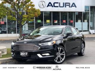 Used 2017 Ford Fusion Titanium AWD for sale in Markham, ON