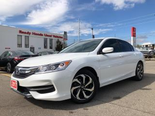 Used 2017 Honda Accord Sedan LX  - Bluetooth - Rear camera - Heated Seats for sale in Mississauga, ON