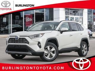 New 2021 Toyota RAV4 Hybrid Limited AWD for sale in Burlington, ON