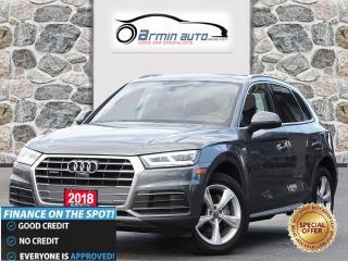 Used 2018 Audi Q5 2.0T QUATTRO Progressiv   NAV   PANO   360 CAM   for sale in Etobicoke, ON
