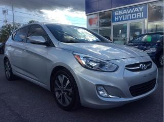 Used 2017 Hyundai Accent SE - Sunroof - Bluetooth - Local Trade for sale in Cornwall, ON