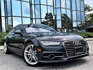 Used 2016 Audi A7 AUTO|VENTED SEATS|BROWN LEATHER|SUNROOF|REAR VIEW|ALLOYS| for sale in Brampton, ON