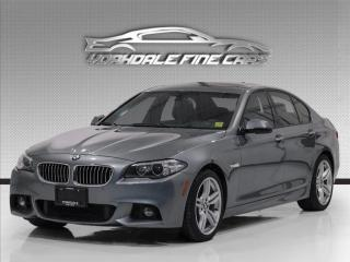 Used 2016 BMW 5 Series 528i xDrive, M Sport, HUD, Navi, Reverse Cam, Loaded for sale in Concord, ON
