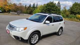 Used 2011 Subaru Forester 5dr Wgn Auto 2.5X Limited for sale in Mississauga, ON