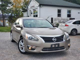 Used 2013 Nissan Altima No Accidents 1 Owner Low Kms Leather Navi Sunroof BackupCam for sale in Sutton, ON