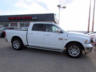 Used 2014 RAM 1500 Laramie Longhorn Crew Cab 5.7L Hemi Navi 4WD Certified for sale in Milton, ON