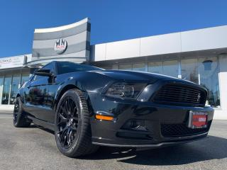 Used 2014 Ford Mustang GT 5.0L 6SPD LEATHER GLASS-TOP LOTS OF EXTRAS for sale in Langley, BC