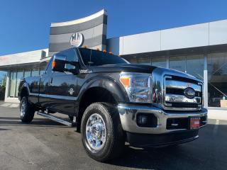 Used 2013 Ford F-350 Lariat 4WD DIESEL LB LEATHER NAVI CAMERA 53KM for sale in Langley, BC