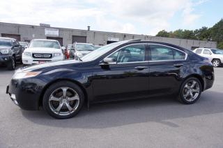 Used 2011 Acura TL SH-AWD TECH Pkg CERTIFIED 2YR WARRANTY NAVI CAMERA SUNROOF SHIFTERS BLUETOOTH for sale in Milton, ON