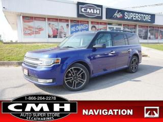 Used 2013 Ford Flex Limited  NAV CAM ADAP-CC ROOF LEATH 7-PASS 20-AL for sale in St. Catharines, ON