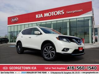 Used 2016 Nissan Rogue SL | AWD | ONE OWNER | LTHR |  NAV | ROOF | 64K KM for sale in Georgetown, ON