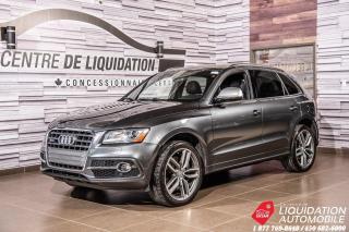 Used 2016 Audi SQ5 3.0T Technik+TOIT+NAV+PNEU D'HIVER 21'' for sale in Laval, QC