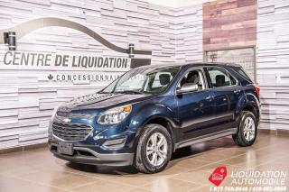 Used 2016 Chevrolet Equinox LS+AIR+CAMERA RECUL+BLUETOOTH for sale in Laval, QC