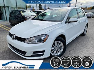 Used 2015 Volkswagen Golf 1.8 TURBO TSI, FREINS NEUF AUX 4 ROUES, for sale in Blainville, QC