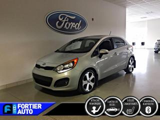 Used 2013 Kia Rio Hayon SX 5p automatique avec navigation for sale in Montréal, QC