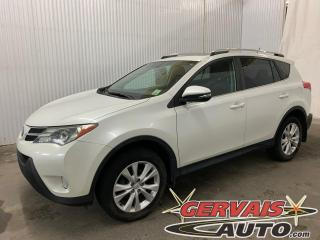 Used 2015 Toyota RAV4 Limited AWD GPS Cuir Toit Ouvrant MAGS for sale in Trois-Rivières, QC