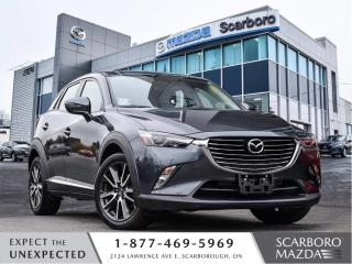 Used 2017 Mazda CX-3 0.99%@FINANCE|CPO|GT|AWD|LOW LOW LOW KM for sale in Scarborough, ON