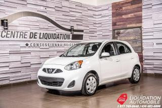 Used 2017 Nissan Micra S+AIR+GR ELECT+BLUETOOTH for sale in Laval, QC