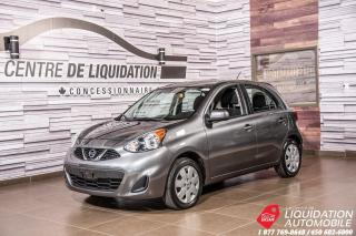 Used 2016 Nissan Micra SV+AIR+GR ELECT+BLUETOOTH for sale in Laval, QC