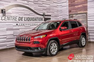 Used 2015 Jeep Cherokee North+AIR+GR ELECT+CAM/RECUL+CUIR+BLUETOOTH for sale in Laval, QC