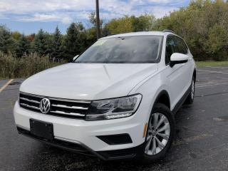 Used 2020 Volkswagen Tiguan TRENDLINE AWD for sale in Cayuga, ON