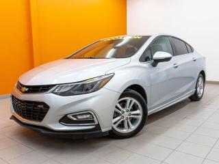 Used 2017 Chevrolet Cruze RS *SIEGES CHAUFF* CAMERA *BLUETOOTH* WIFI *PROMO for sale in St-Jérôme, QC