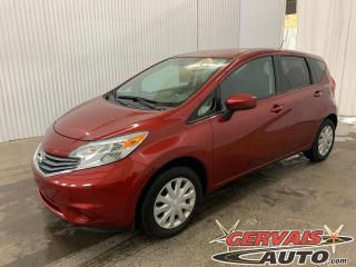 Used 2016 Nissan Versa Note SV Caméra A/C Bluetooth *Transmission Automatique* for sale in Shawinigan, QC