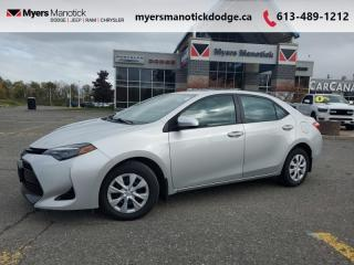Used 2018 Toyota Corolla CE  -  Bluetooth - $133 B/W for sale in Ottawa, ON