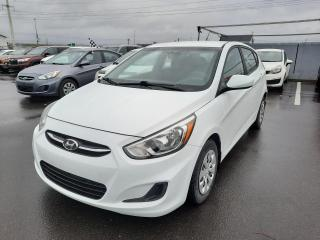 Used 2016 Hyundai Accent GL* AT* 5 PORTES* A/C* SIEGES CHAUFFANTS for sale in Québec, QC