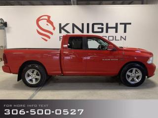 Used 2012 RAM 1500 SPORT for sale in Moose Jaw, SK
