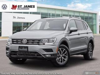 New 2020 Volkswagen Tiguan COMFORTLINE for sale in Winnipeg, MB