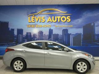 Used 2016 Hyundai Elantra SE AUTOMATIQUE AIR CLIMATISE TRES PROPRE for sale in Lévis, QC