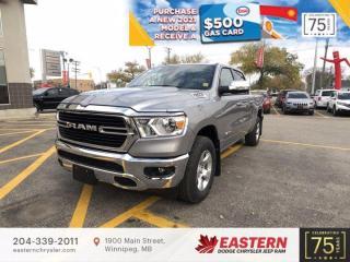 New 2021 RAM 1500 | Big Horn | Backup Cam | 0% Financing | for sale in Winnipeg, MB