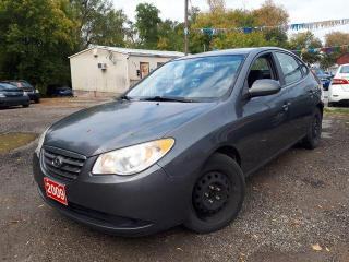 Used 2009 Hyundai Elantra GL CERTIFIED for sale in Oshawa, ON