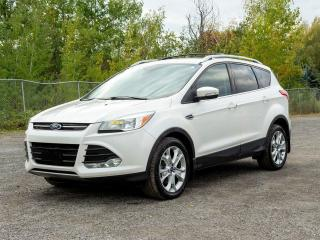 Used 2016 Ford Escape TITANIUM 4X4 HAYON ÉLECT CUIR NAV *TOIT PANO* for sale in Mirabel, QC