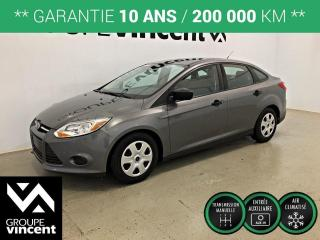 Used 2014 Ford Focus SE CLIMATISEUR ** GARANTIE 10 ANS ** Bas kilométrage! for sale in Shawinigan, QC