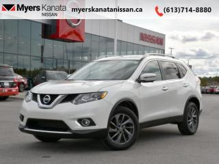 Used 2016 Nissan Rogue SL  - Navigation -  Leather Seats - $146 B/W for sale in Kanata, ON