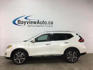 Used 2018 Nissan Rogue SL - AWD! PANOROOF! HTD LEATHER! NAV! ADAPTIVE CRUISE! ONLY 5000KMS! for sale in Belleville, ON