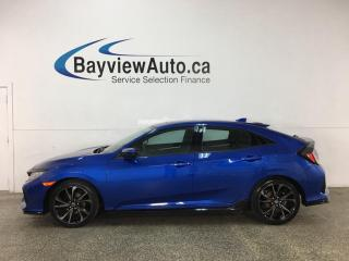 Used 2017 Honda Civic Sport - 6SPD! TURBO! HATCH! SUNROOF! + MUCH MORE! for sale in Belleville, ON