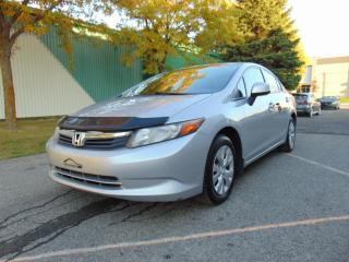 Used 2012 Honda Civic ******BLUETOOTH*****FINANCEMENT DISPONIB for sale in St-Eustache, QC