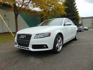 Used 2011 Audi A4 ****FINANCEMENT 1-2-3 CHANCE AU CREDIT D for sale in St-Eustache, QC