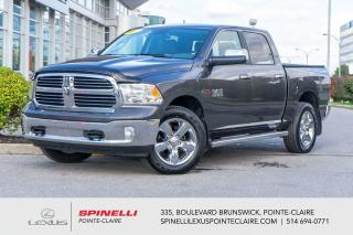 Used 2017 RAM 1500 *BIG HORN ECO DIESEL* *V-6 ECO DIESEL*CAMERA DE RECUL*TONNEAU COVER*MARCHE A PIEDS*VOLANT CHAUFFANTS*ATTACHE REMOURQUE* for sale in Montréal, QC
