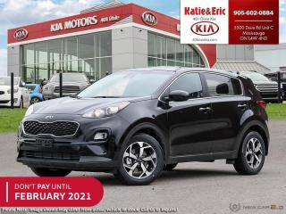 New 2021 Kia Sportage LX DON'T PAY TO FEBRUARY 2021 for sale in Mississauga, ON