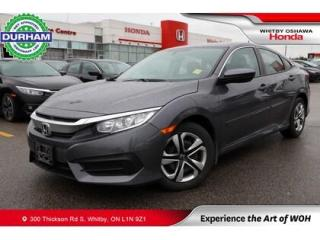 Used 2018 Honda Civic LX | CVT for sale in Whitby, ON