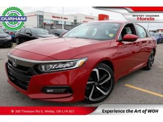 Used 2019 Honda Accord Sport | Manual for sale in Whitby, ON