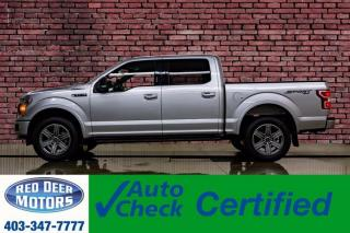 Used 2018 Ford F-150 4x4 Super Crew XLT Sport Nav BCam for sale in Red Deer, AB