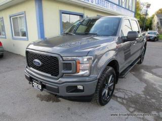 Used 2018 Ford F-150 LIKE NEW XLT-FX4 EDITION 5 PASSENGER 5.0L - V8.. 4X4.. CREW-CAB.. SHORTY.. POWER PEDALS.. TRAILER BRAKE.. HEATED SEATS.. BACK-UP CAMERA.. BLUETOOTH.. for sale in Bradford, ON